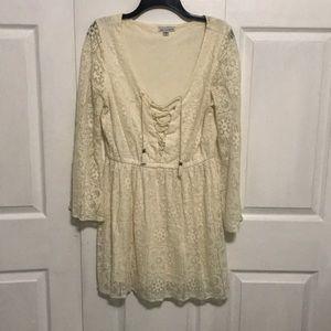 Boho lace american eagle dress